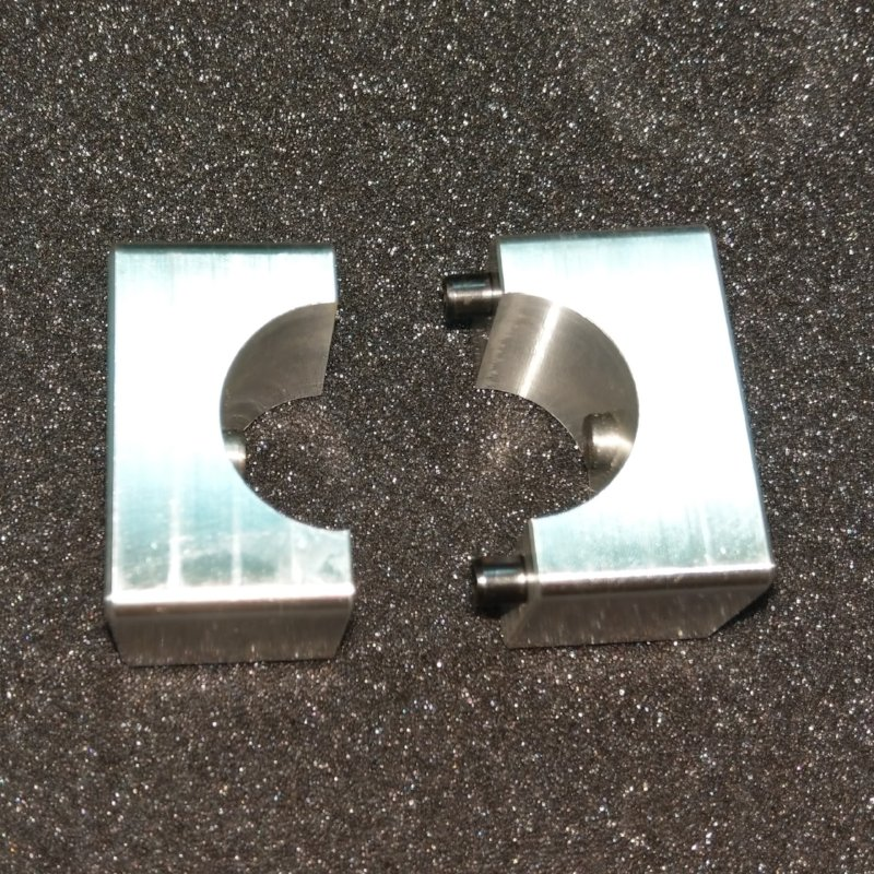 AL6061T6 CNC Machined for Precise Clamping.
