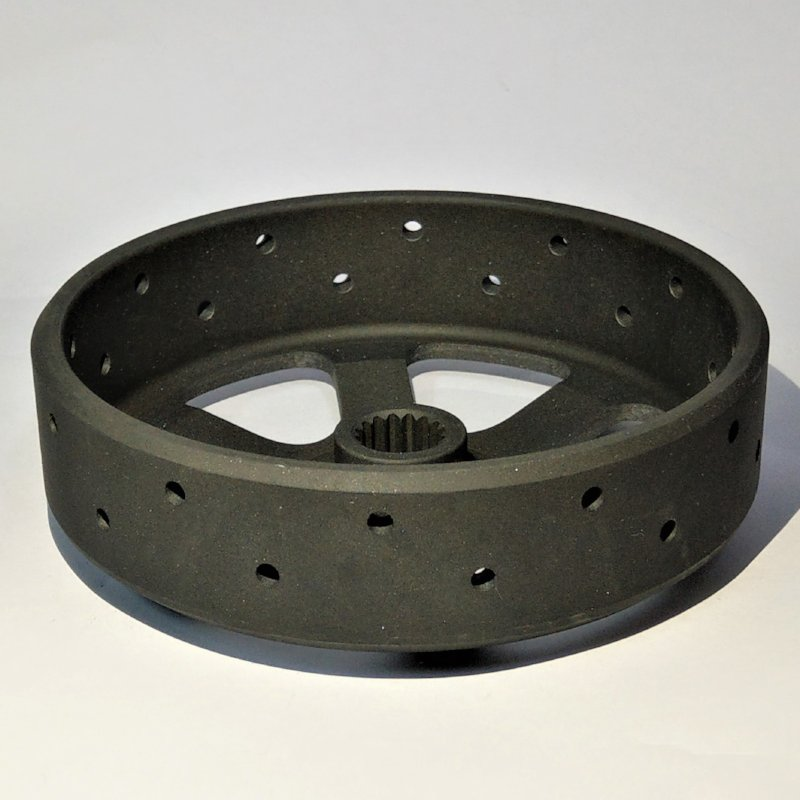 CNC Machining and Punch for Real Roundness, Balance and Heat Resistant.